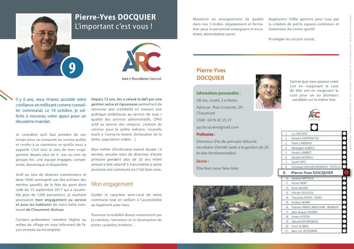 Téléchargez le tract personnel de Pierre-Yves DOCQUIER en .pdf (1 MB)