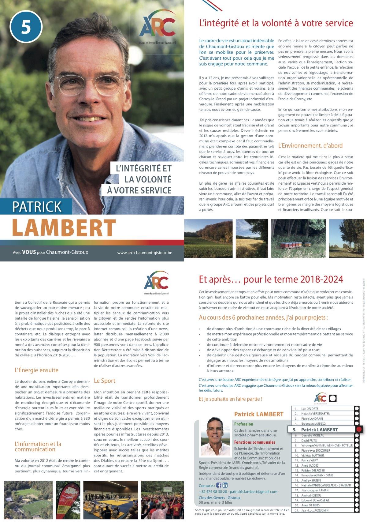 Téléchargez le tract personnel de Patrick LAMBERT en .pdf (2MO)